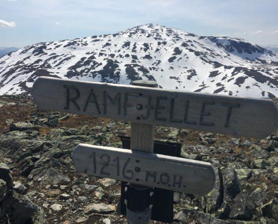 Ramfjellet – 1216 MOH