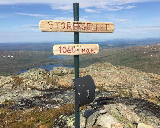 Storfjellet – 1060MOH